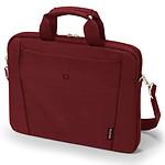 "Dicota Slim Case Base 15-15.6"" (rouge) pas cher"