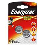 Energizer CR2450 Lithium 3V (par 2) pas cher
