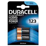 Duracell Ultra 123 Lithium 3V (par 2) pas cher