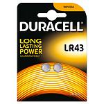 Duracell LR43 1.5V (par 2) pas cher