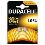 Duracell LR54 1.5V (par 2) pas cher