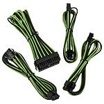 BitFenix Alchemy - Extension Cable Kit - noir et vert pas cher