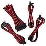 BitFenix Alchemy - Extension Cable Kit - noir et rouge pas cher