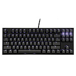 Ducky Channel One 2 TKL Backlit (coloris noir - MX Brown - LEDs bleues - touches PBT) pas cher