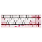 Ducky Channel x Varmilo MIYA Pro Sakura Edition (Cherry MX Speed Silver) pas cher
