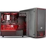 Cooler Master MasterBox E500L Windows Rouge pas cher