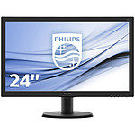 "Philips 23.6"" LED - 243V5LHSB pas cher"