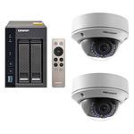 QNAP TS-253A-4G + 2x Hikvision DS-2CD2720F-IZ pas cher