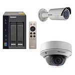 QNAP TS-253A-4G + Hikvision DS-2CD2620F-IZ + Hikvision DS-2CD2720F-IZ pas cher
