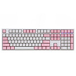 Ducky Channel One (coloris rose - Cherry MX Brown) pas cher