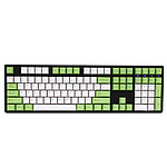 Ducky Channel One (coloris vert - Cherry MX Red) pas cher