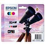 Epson Jumelles 502XL Noir + Cyan/Magenta/Noir Standard pas cher