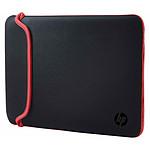 "HP Chroma Sleeve 15.6"" Rouge/Noir pas cher"