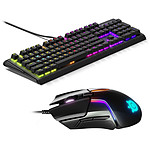 SteelSeries Apex M750 + Rival 600 pas cher
