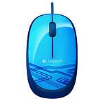 Logitech Corded Mouse M105 (Bleu) pas cher