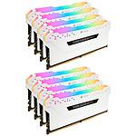 Corsair Vengeance RGB PRO Series 64 Go (8x 8 Go) DDR4 2666 MHz CL16 pas cher