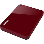 Toshiba Canvio Advance 1 To Rouge pas cher