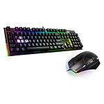 MSI GC140 - MSI Vigor GK80 CR (MX Red) + Souris Clutch GM60 pas cher