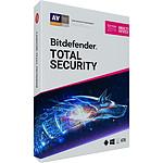 Bitdefender Total Security 2019 - Licence 2 Ans 10 Appareils pas cher