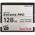 SanDisk Carte mémoire Extreme Pro CompactFlash CFast 2.0 128 Go pas cher