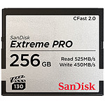 SanDisk Carte mémoire Extreme Pro CompactFlash CFast 2.0 256 Go pas cher