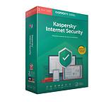 Kaspersky Internet Security 2018 - Licence 1 poste 1 an pas cher