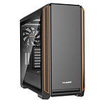 be quiet! Silent Base 601 Window (Orange) pas cher