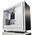 Fractal Design Define R6 USB-C Tempered Glass (blanc) pas cher