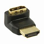 Nedis Adaptateur HDMI mâle / HDMI femelle (coudé 270°) pas cher