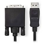 Nedis Câble DisplayPort mâle vers DVI-D mâle (2 m) pas cher