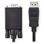 Nedis Câble DisplayPort Mâle vers VGA Mâle (1 m) pas cher