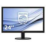 "Philips 23.6"" LED - 243V5LHAB pas cher"