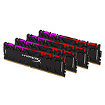 HyperX Predator RGB 32 Go (4x 8 Go) DDR4 3600 MHz CL17 pas cher