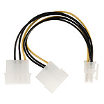 Nedis Adaptateur d'alimentation 2x Molex vers PCI-E 6 Broches pas cher