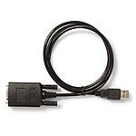 Nedis Adaptateur USB pour périphérique série (DB9) - 0.9 m pas cher