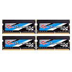 G.Skill RipJaws Series SO-DIMM 32 Go (4 x 8 Go) DDR4 2666 MHz CL19 pas cher