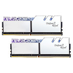 G.Skill Trident Z Royal 32 Go (2x 16 Go) DDR4 3200 MHz CL16 - Argent pas cher
