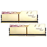 G.Skill Trident Z Royal 32 Go (2 x 16 Go) DDR4 3000 MHz CL16 - Or pas cher