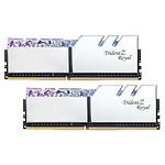 G.Skill Trident Z Royal 32 Go (2 x 16 Go) DDR4 4600 MHz CL20 - Argent pas cher