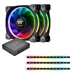Thermaltake Riing Plus 12 RGB Premium Edition Combo Kit pas cher