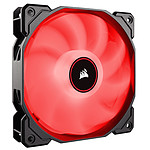Corsair Air Series AF140 Low Noise - Rouge pas cher