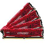 Ballistix Sport LT 64 Go (4 x 16 Go) DDR4 3200 MHz CL16 pas cher