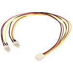 StarTech.com Câble d'alimentation en Y pour ventilateur Molex de 30 cm pas cher