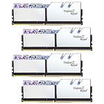 G.Skill Trident Z Royal 64 Go (4 x 16 Go) DDR4 3200 MHz CL14 - Argent pas cher