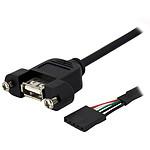 StarTech.com Câble adaptateur USB 2.0 IDC 5 broches vers USB A interne pas cher