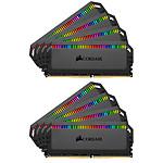 Corsair Dominator Platinum RGB 128 Go (8x 16 Go) DDR4 3200 MHz CL16 pas cher