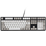 Ducky Channel One (coloris gris - Cherry MX Black) pas cher