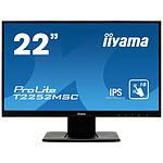 "iiyama 21.5"" LED Tactile - ProLite T2252MSC-B1 pas cher"