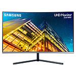 "Samsung 31.5"" LED - U32R590CWR pas cher"