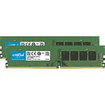 Crucial DDR4 8 Go (2 x 4 Go) 3200 MHz CL22 SR X16 pas cher